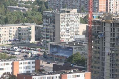 Spalį butų kainos krito visuose miestuose