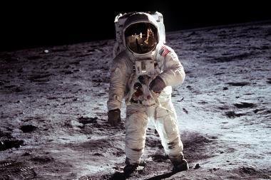 Pirmajam žmogui Mėnulyje - jau 80 metų