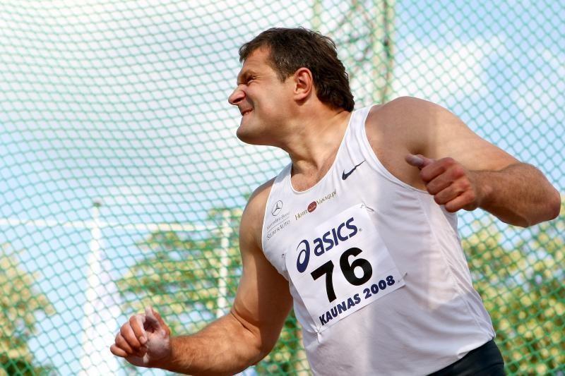 V.Alekna pagerino šalies sezono rekordą