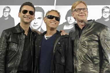"""""""Depeche Mode"""" į Vilnių neatvyks"""