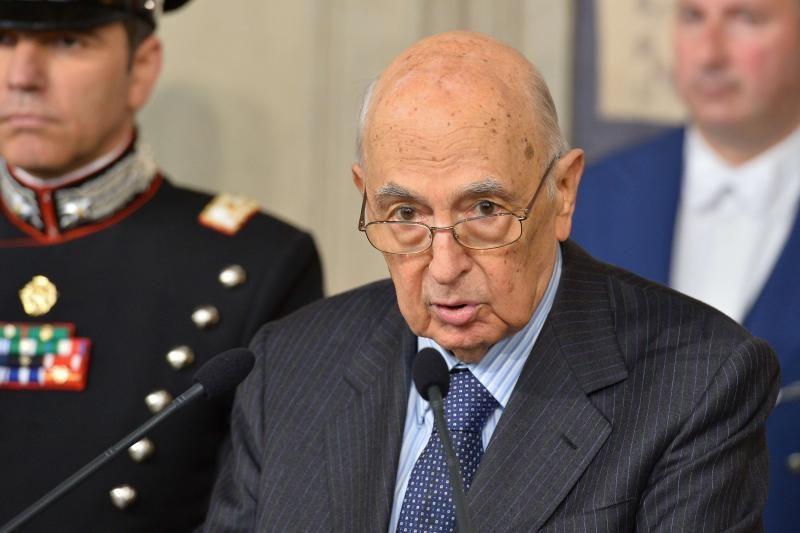 Italijos prezidentas paneigė gandus, kad atsistatydins