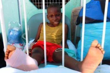 Nukentėjusiems Haityje surinkta per 585 tūkst. litų