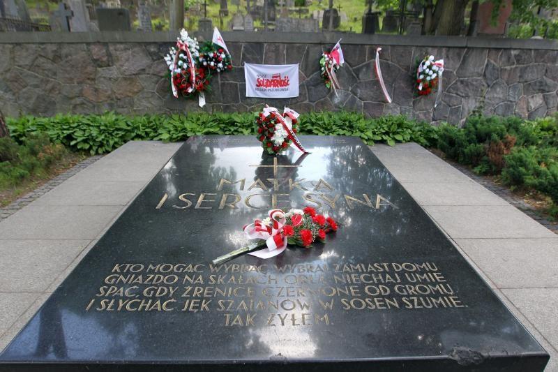 Rasų kapinėse išniekintas Lenkijos maršalo J. Pilsudskio kapas