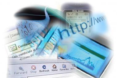 2009 m. išaugo naudojimasis interneto paieškomis