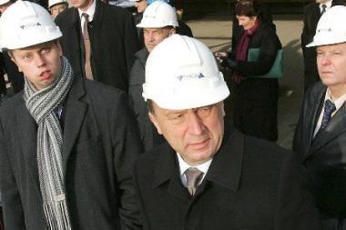 A.Kubilius: nebaigtas statybas, tarp jų ir rezidencijos, reikia užbaigti