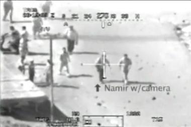 Išviešintoje JAV kariuomenės medžiagoje - žurnalistų sušaudymas
