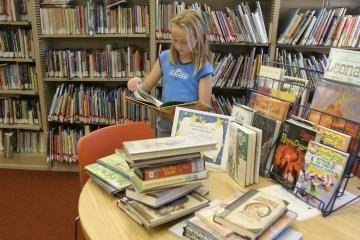 Skaityti knygas vilios renginiais