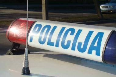 Kretingoje policininkas partrenkė į gatvę išbėgusį vaiką
