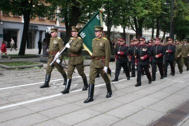 Lietuvos šaulių sąjungos vadu siūlomas A.Plieskis