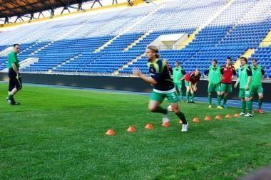 Futbolo rinktinės strategai pasitikės jaunimu