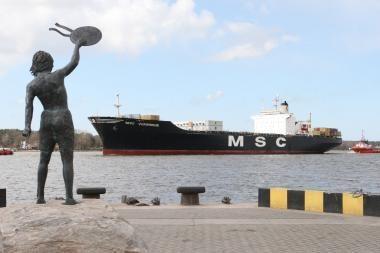 Klaipėdos uostas grįžta į lyderio pozicijas