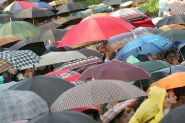 Kauniečių laukia lietingas savaitgalis