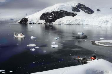 Plaukti į Antarktidą gali visi norintys