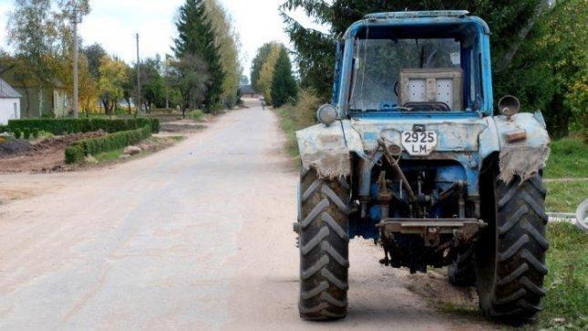 Briuselyje dėl išmokų protestuoja Baltijos šalių žemdirbiai
