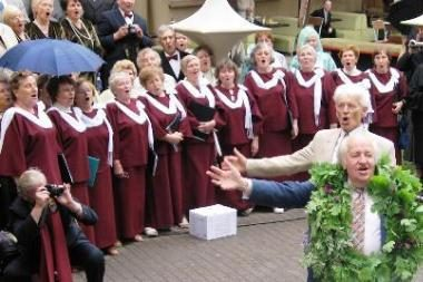 Senjorų dainų šventėje dainavo per 400 choristų