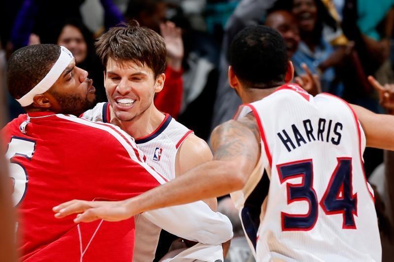 """NBA:K. Korveris tritaškiu nužudė absoliučią lygos autsaiderę """"Wizards"""""""