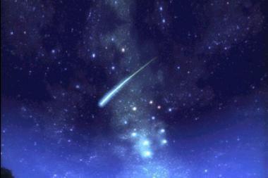 Kada Lietuvoje nukris meteoritas?