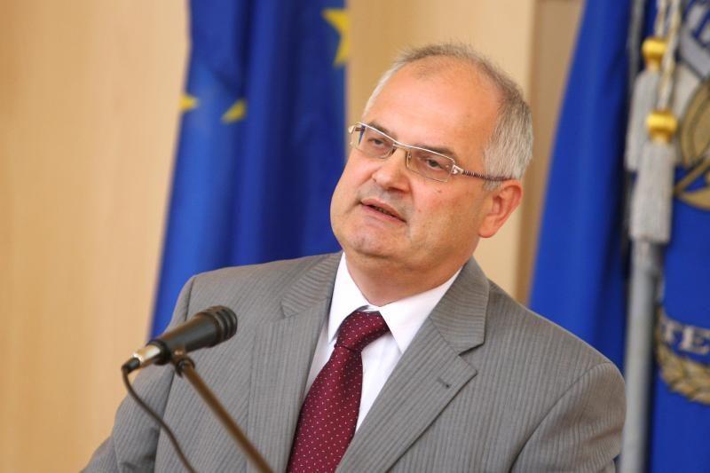 Iškilmingai inauguruotas VGTU rektorius A.Daniūnas