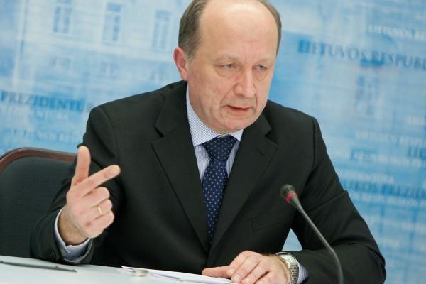 """A.Kubilius nedramatizuoja """"Gazpromo"""" pareiškimų"""