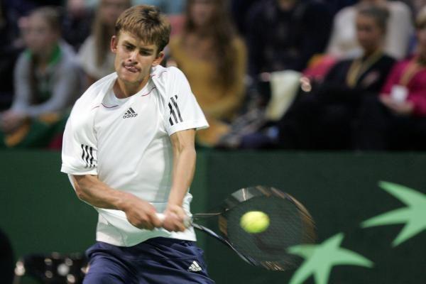 L.Grigelis sėkmingai pradėjo ATP turnyrą