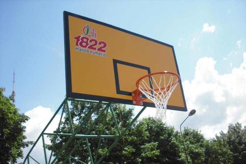 Investuojama į krepšinio ateitį – sostinėje renovuota 50 aikštelių