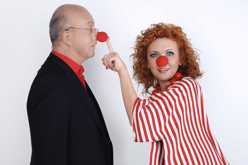 """Daugiau nei 30 komikų susitiks """"Raudonos nosies dienos"""" šventėje"""