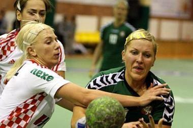 Antroji moterų rankinio rinktinės nesėkmė