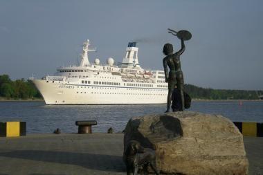 Klaipėda rengiasi kruizinių laivų sezonui