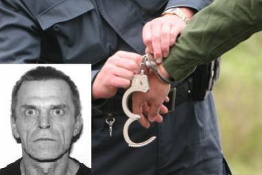 Vilniaus policija sučiupo itin pavojingą recidyvistą