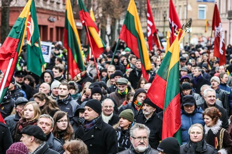 Dėl Vasario 16 - osios eitynių Kaune – žydų bendruomenės protestas