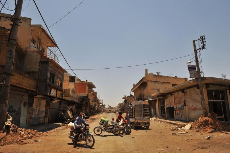 Sirijos sukilėliai užėmė vieną sienos su Turkija perėją