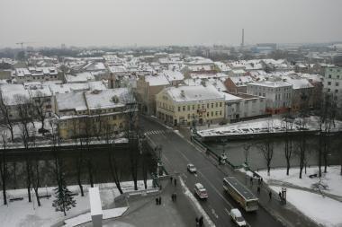Oro sąlygos nepalankios taršos išsisklaidymui