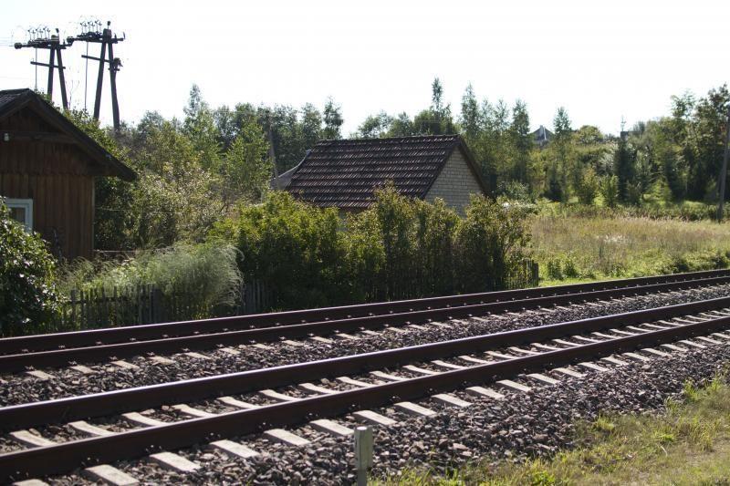 Kėdainiuose pavogti geležinkelio bėgiai