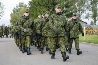 Kosove tarnaujantys Lietuvos kariai jau atidavė savo balsus