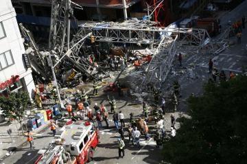 Nuvirtęs kranas Niujorke sukėlė chaosą