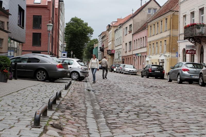 Klaipėdos Žvejų gatvę norima paversti pėsčiųjų alėja