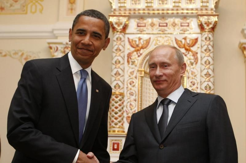 Obama     lankysis   Rusijoje    rugsėjį