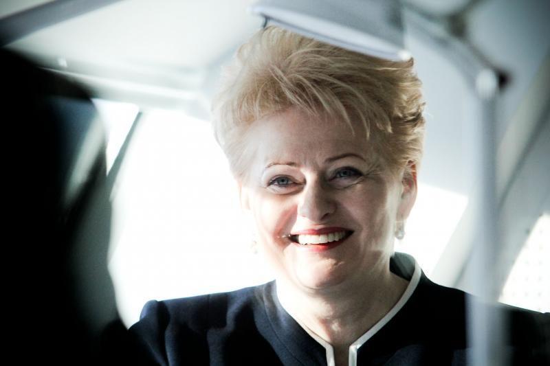 Apklausa: D. Grybauskaitė turėtų kandidatuoti antrai kadencijai