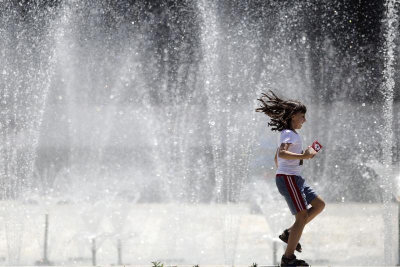 Pirmoji vasaros diena Bulgarijoje muša karščio rekordus