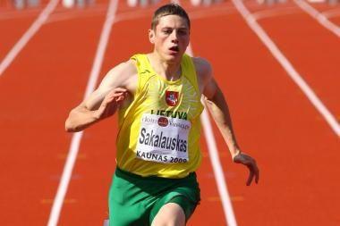 Bėgiko R.Sakalausko pergalė turnyre Jekaterinburge