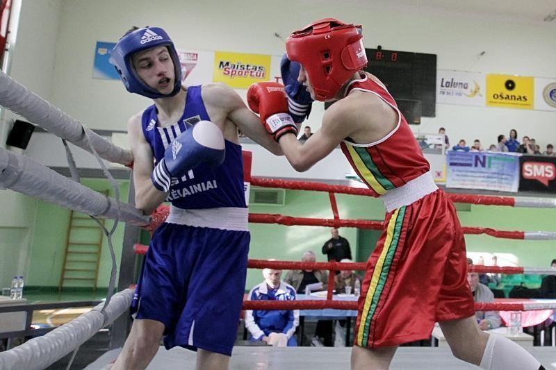Lietuvos bokso pirmenybėse žinomi pusfinalininkai