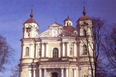 Rotušės aikštėje - Vilniaus baroko pastatų ledinės kopijos