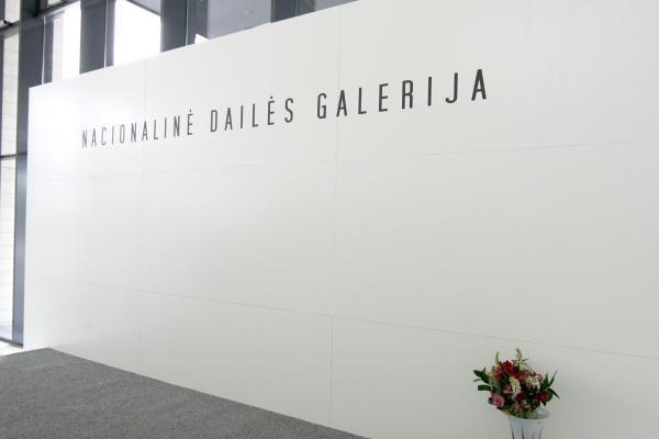 Nacionalinėje dailės galerijoje E.Parulskis svarstys apie meno rinką