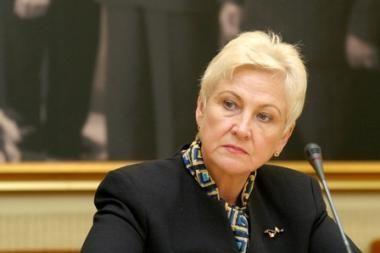 I.Degutienė - prieš siūlymą iš NVO atimti gyventojų paramą