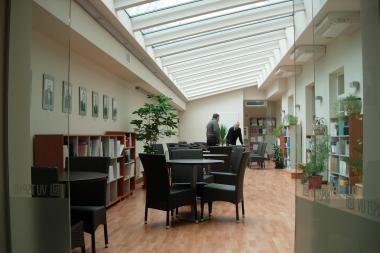 Atidaroma rekonstruota VU TSPMI biblioteka