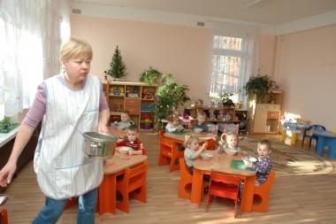 Vaikai iš rajono – į savo darželius