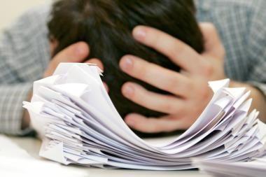 Šalies abiturientai laiko valstybinį kalbos egzaminą