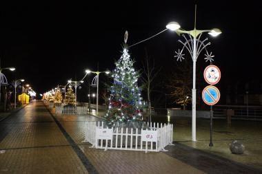 Palangoje - Baltijos jūros šalių Kalėdų alėja (programa)