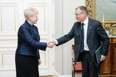 Prezidentė: vaistai turi būti prieinami kiekvienam Lietuvos gyventojui
