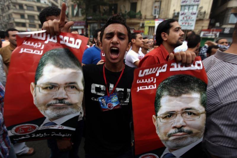 Islamiškasis M.Mursi paskelbtas Egipto prezidentu